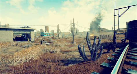 pubg battlegrounds playerunknown s battlegrounds first look at desert map is hot
