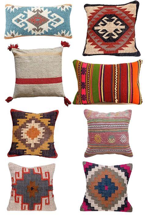 colorful kilim pillows        favorites