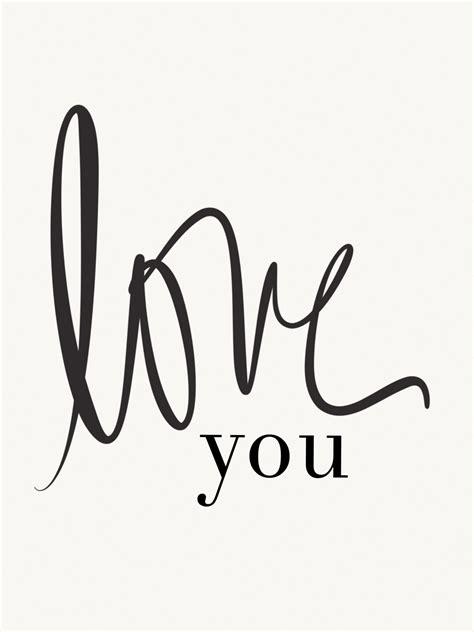 printable love images avery street design blog free printable love you