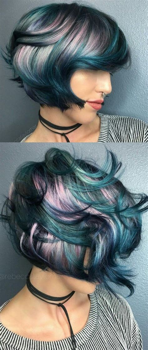 weave with grey highlights 1077 best images about rainbow of hair on pinterest teal