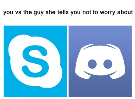 discord no route when you re that one guy that s still using skype discordapp