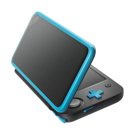 Nintendo New 2ds Xl Console Black Turquoise Bonus 1 new nintendo 2ds xl black turquoise ebgames ca