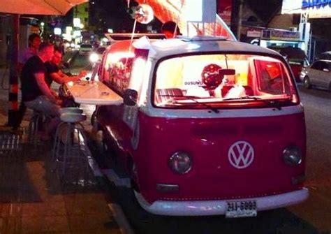 volkswagen thailand thailand nightlife kombi cocktail bars vw combi