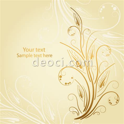 background design vector eps free download vector light yellow background exquisite decorative