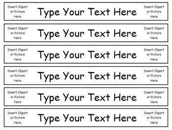 Best 25 Binder Spine Labels Ideas On Pinterest Classroom Labels Binder Labels And Classroom Binder Spine Label Template Free