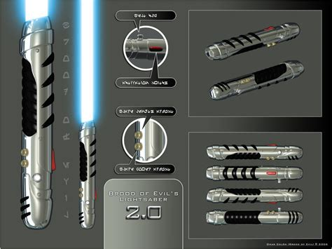 lightsaber 2 0 by broodofevil on deviantart