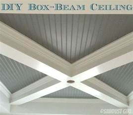how to build a box beam ceiling sawdust 174