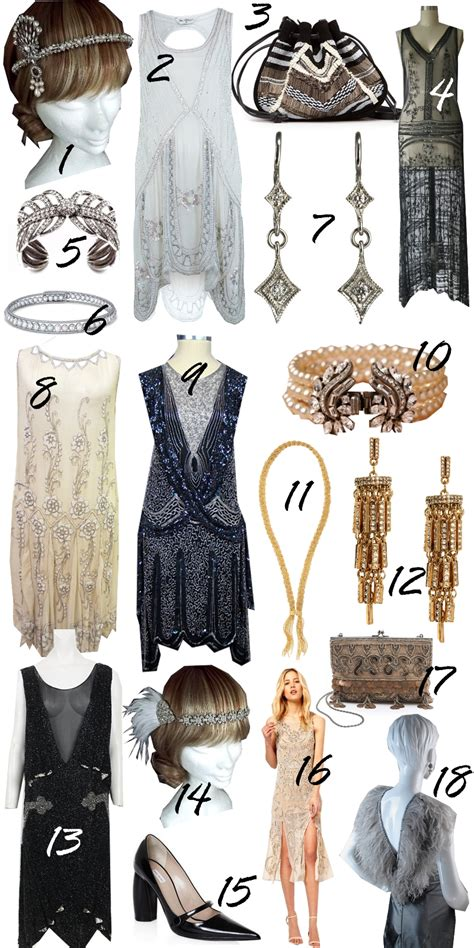 what decade was the great gatsby and hairstyles