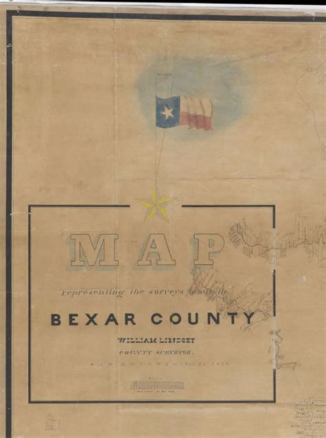 Bexar County Property Survey Records Mapping From Frontier To The Lone State Bexar County