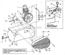 Speedaire 3z494 3z495 3z745 Air Compressor Parts