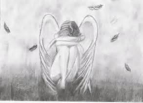 Sad angel by dreamprincess on deviantart