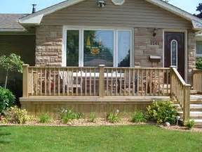 uncovered front porch deck landscapes outdoors pinterest
