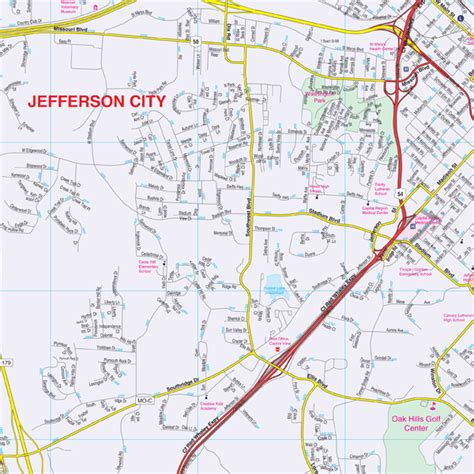 Jefferson County Address Search Jefferson County Mo Map