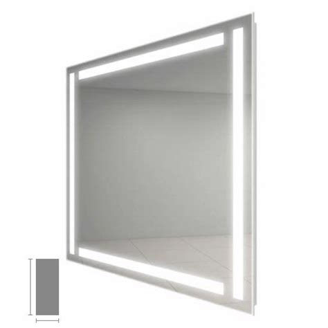 electric mirror bathroom electric mirror efinity 18 quot x 44 quot lighted mirror efi1844