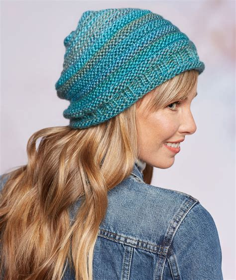 style knitting patterns keep warm with slouchy hats and scarves