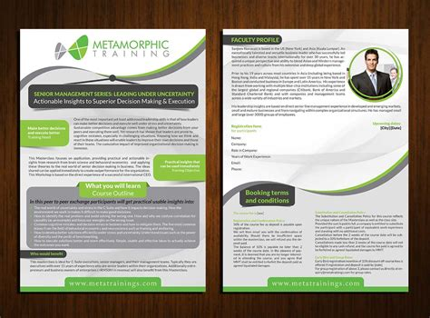 brochure layout terminology professional upmarket brochure design for rhoda yap by