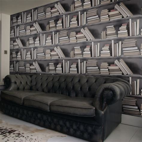 nice decors 187 blog archive 187 old bookshelf wallpaper by