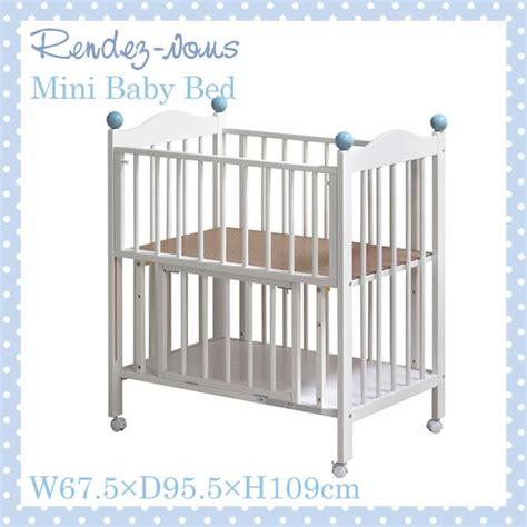Are Mini Cribs Safe I Baby Rakuten Global Market Rendezvous Mini Crib Bed 411229 Crib And Baby Bedding
