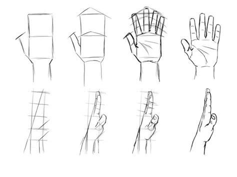 как рисовать кисти рук Sketch Style Guide Template