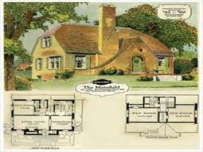 Vintage Cottage House Plans by Tudor House Vintage Tudor Cottage House Plans