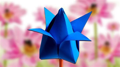 lotus flower paper craft how to make lotus flower with paper for easy paper