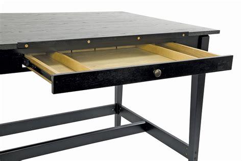 Black Drafting Table Alvin Black Ash Drafting Table 36 X 48