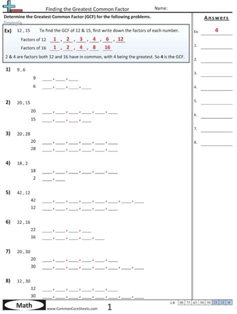Factorial Worksheet by Factors And Multiples Homework Ks2 Factors And Multiples