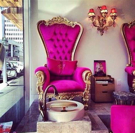 The Pink Chair Boutique by Pedicure Chair Nail Bar