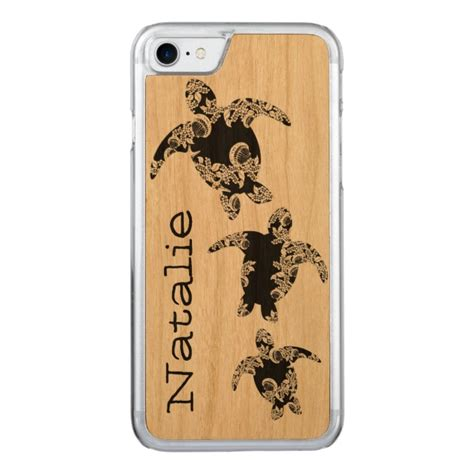 sea turtles   carved iphone  case case