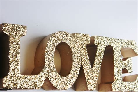 decorative letters love free standing glitter letters home love glitter gold sign letters free standing glittered