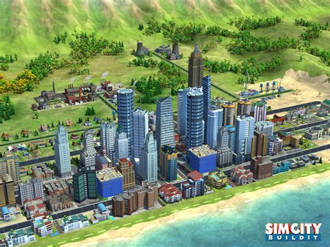 simcity android simcity buildit announced for android