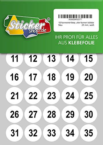Aufkleber Punkte Wasserfest by Etikettierer Etiketten Stickershop De Nummerierte