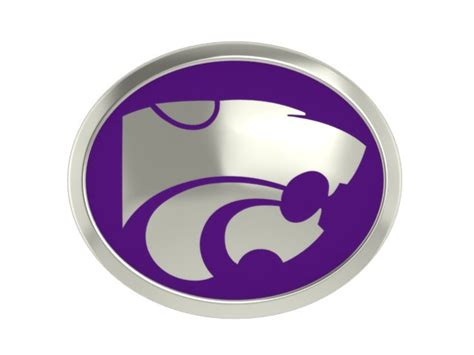Wholesale Kansas State University Wildcats Bead Fits Beaded Charm Style Bracelets
