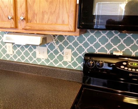 vinyl tile backsplash vinyl quatrefoil backsplash projects landeelu com
