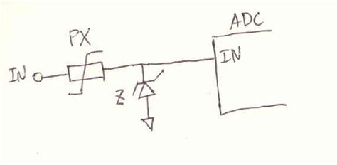 adc protection diode circuit protection for the adc input electronicsxchanger