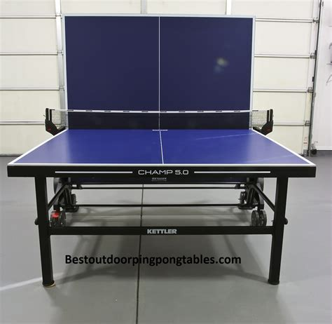 kettler ch 5 0 outdoor ping pong table