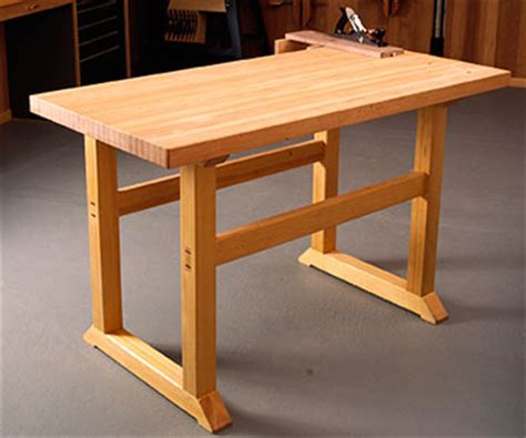 free wood bench plans free simple to build workbench woodworking plan