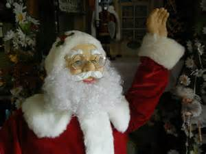 five foot santa claus animated size deluxe 5 foot santa claus sings