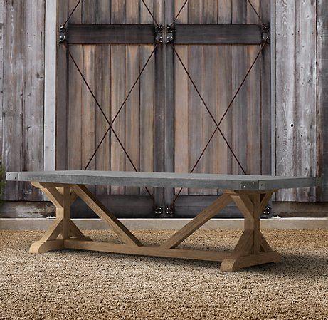 restoration hardware concrete dining table concrete dining table dining tables and restoration