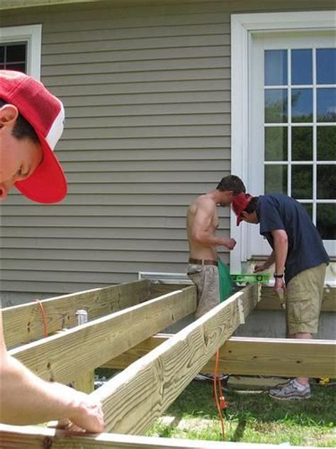 Tips On Building A Deck by Diy Deck Building Tips Infobarrel Outside