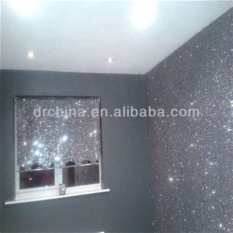 reflective fabric wall paper glitter pu leather decoration material cheap glitter wallpaper for bedroom decoration buy