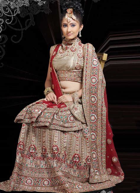 bridal hairstyles on ghagra exquisite ghagra choli design yusrablog com