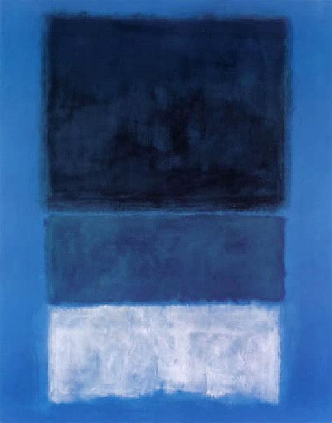 blue and white painting mark rothko no 14 white and greens in blue painting