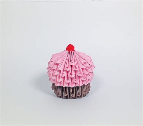 Origami Cupcake - origami cupcake diy for is sweet sweet how to