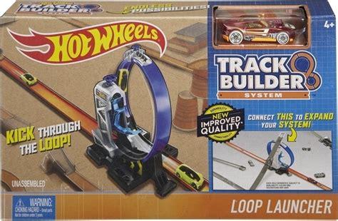 Mainan Anak Wheels Track Builder Loop Launcer Dmh51 mattel wheels track builder loop launcher skroutz gr
