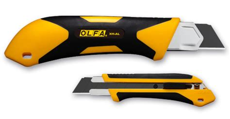Olfa L6 Al Fiberglass Reinforced Auto Lock Utility Knife Hi Store olfa 25mm fiberglass rubber grip utility knife xh al olf xhal gwj company better pricing
