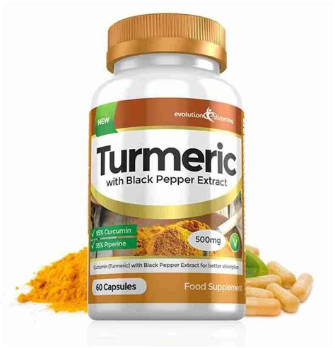White Turmeric Detox by Turmeric 95 Curcumin Black Pepper For Weight Loss