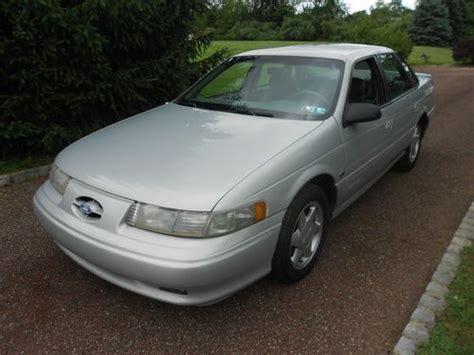 1995 Ford Taurus Sho Sell Used 1995 Ford Taurus Sho 5 Speed Garage