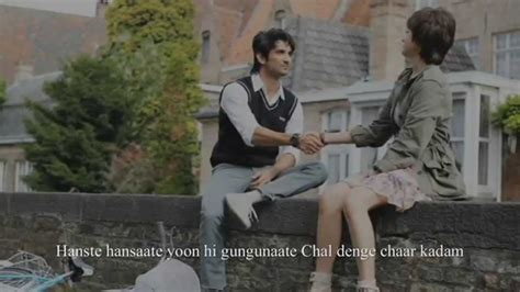 pk song queen film chaar kadam full song lyrics pk movie shaan shreya
