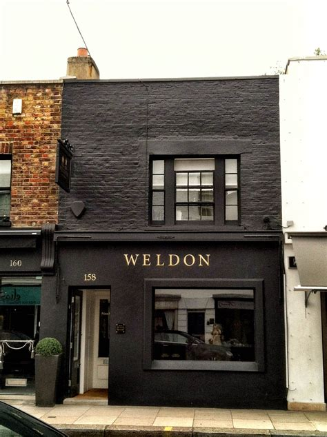 black store for the store paint it black classic with gold letters chelsea shop